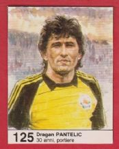 Yugoslavia Dragan Pantelic Bordeaux